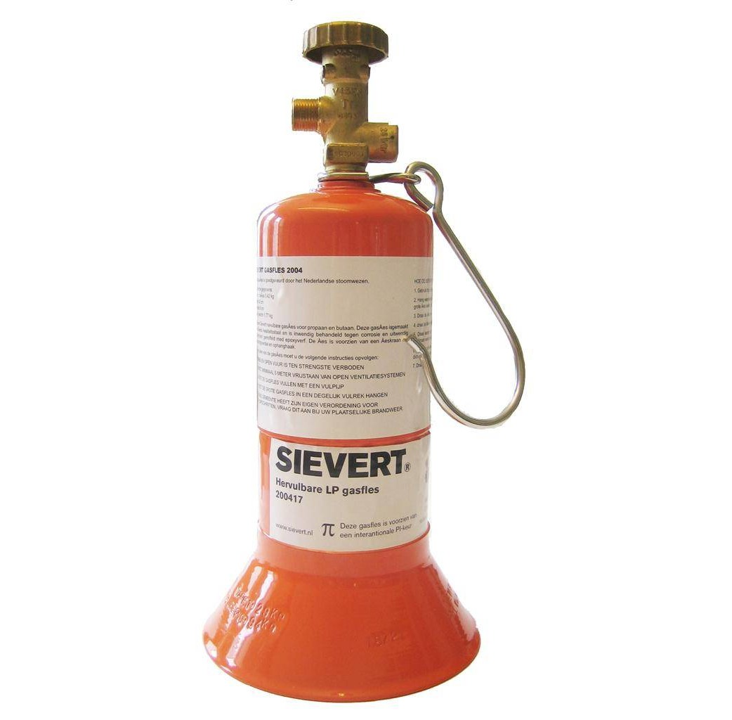 Sievert Sievert Karweifles oranje - niet gevuld - 200417