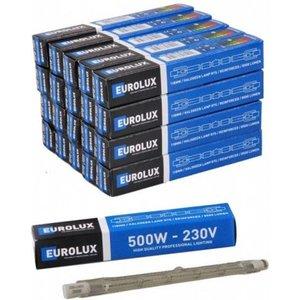 Eurolux Eurolux Halogeenlamp - buislamp - pit 500 Watt