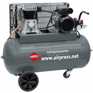 Airpress Airpress HL 375-100 Compressor - 330 l/min  - 90 liter - 360562 - 0
