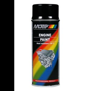 Motip Motip Engine Paint zwart 400ML 04092