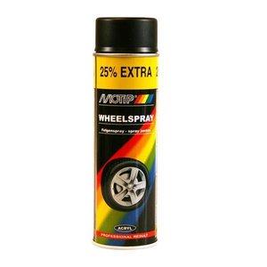 Motip Motip Velgenlak mat zwart 500ML 04019
