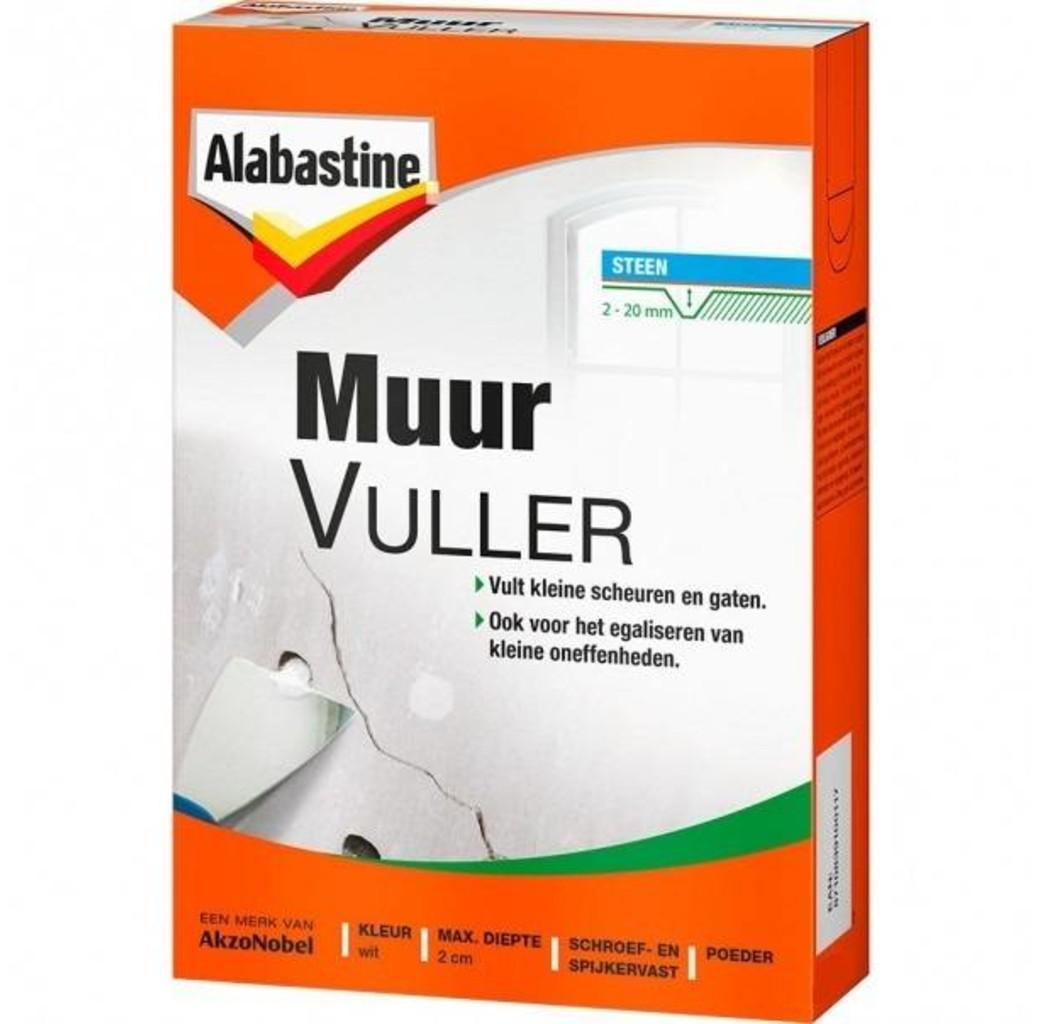 Alabastine Alabastine Muurvuller - wit - 2000 gram