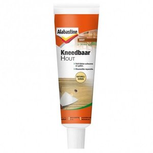 Alabastine Alabastine Kneedbaar hout - naturel/ vuren - 75 gram - 0