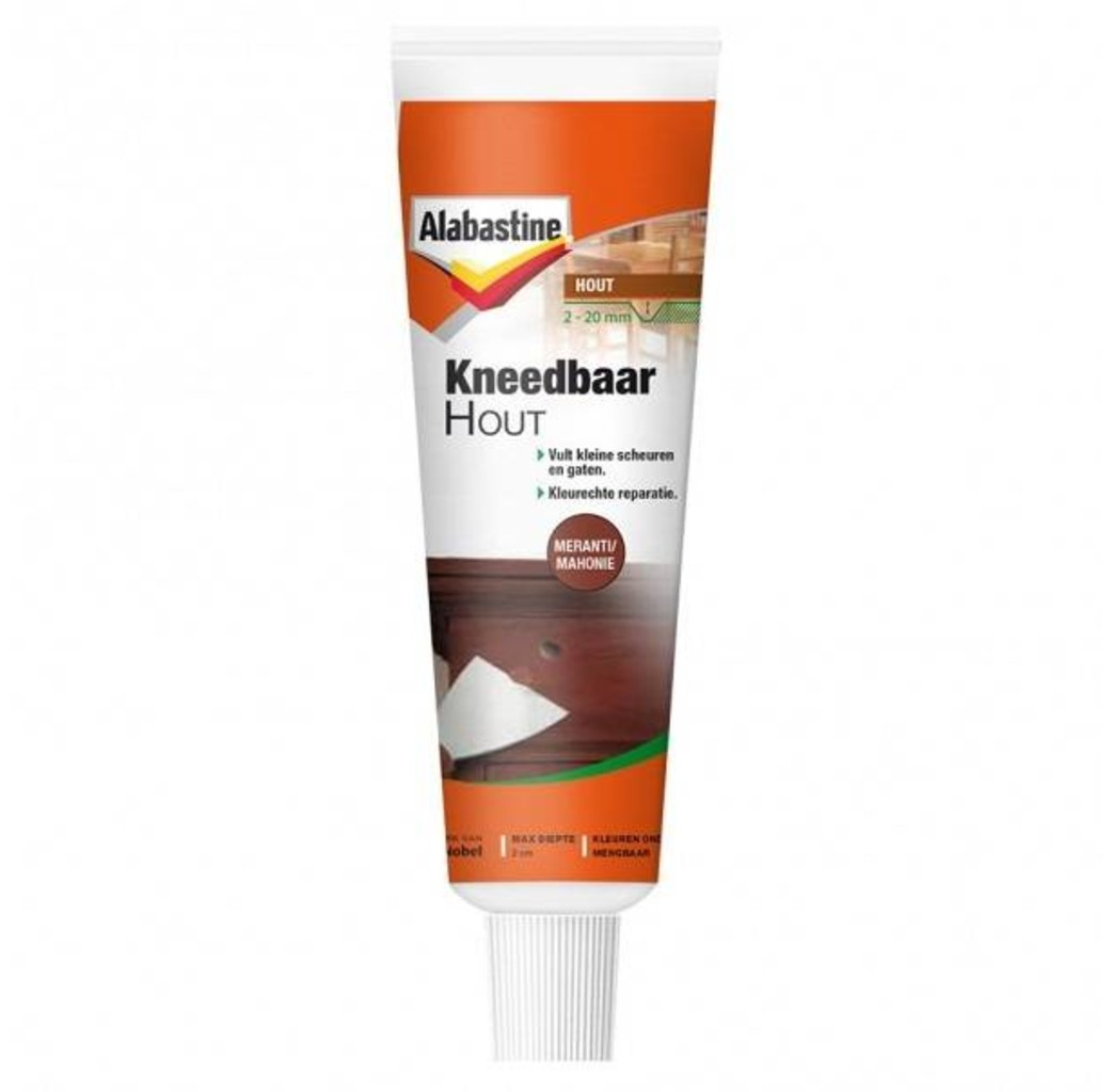 Alabastine Alabastine Kneedbaar hout - meranti/ mahonie - 75 gram