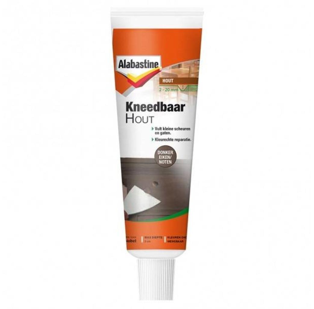 Alabastine Alabastine Kneedbaar hout - donker eiken/ noten - 75 gram