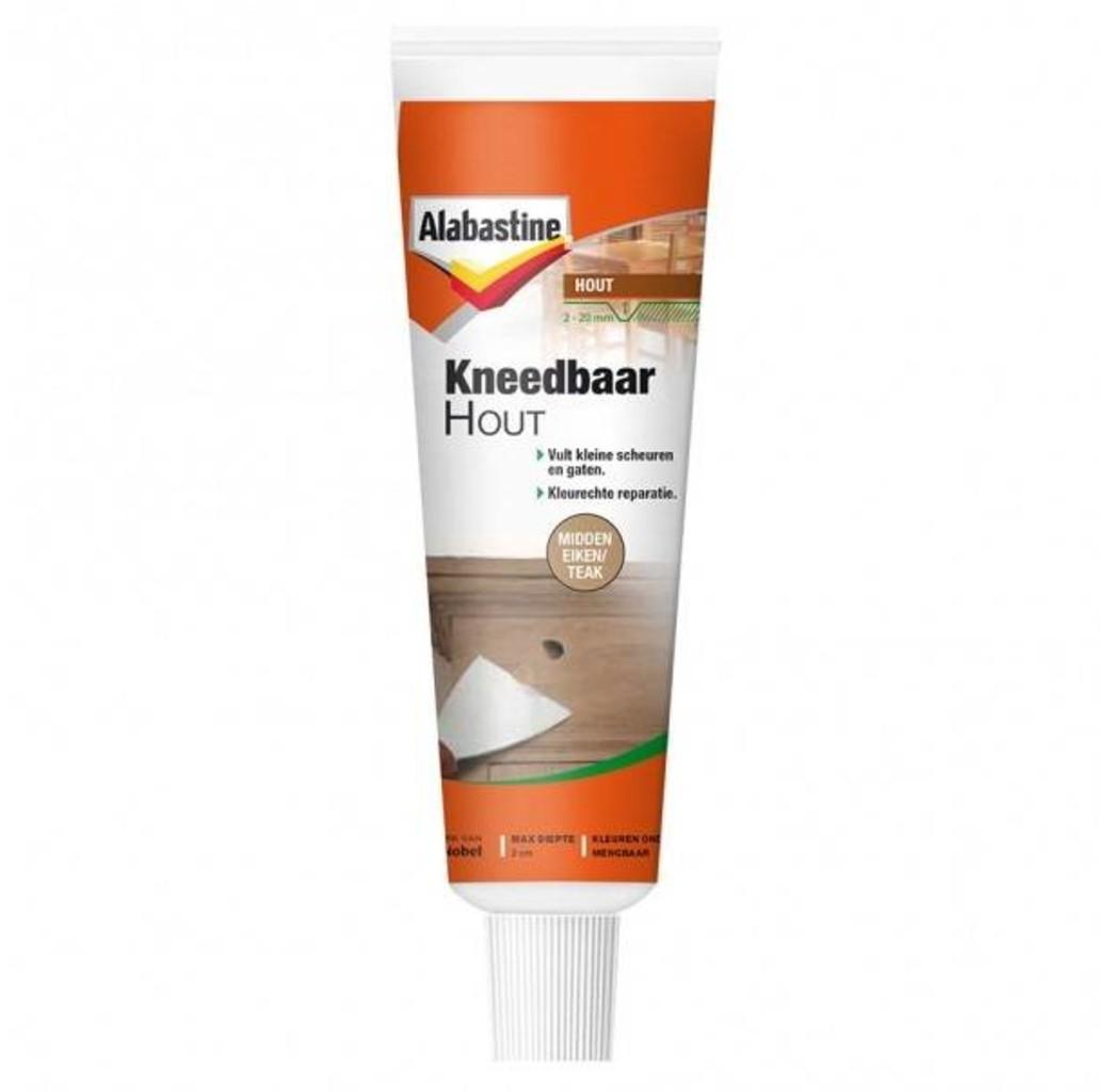 Alabastine Alabastine Kneedbaar hout - midden eiken/ teak - 75 gram