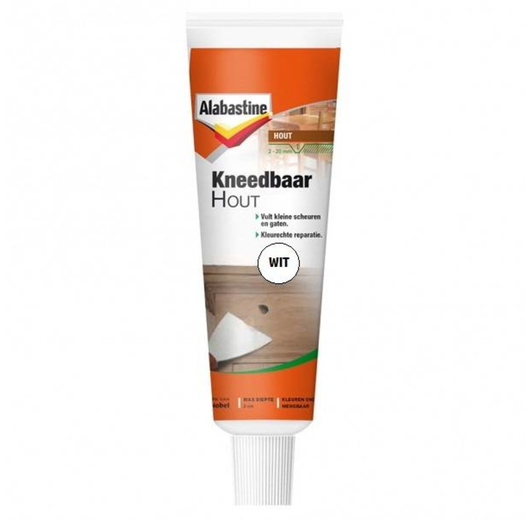 Alabastine Alabastine Kneedbaarhout wit 75 gram