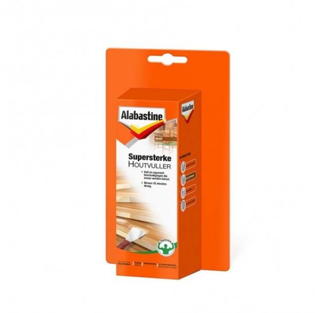 Alabastine Alabastine Supersterke houtvuller/ plamuur - 200 gram