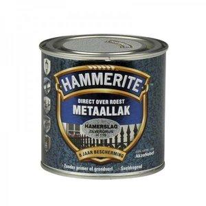 Hammerite Hammerite Metaallak hamerslag H115 zilver grijs 250ML