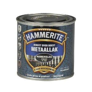 Hammerite Hammerite Metaallak hamerslag H160 zwart 250ML