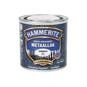 Hammerite Hammerite Metaallak hamerslag H110 wit 250ML