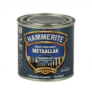 Hammerite Hammerite Metaallak hamerslag H128 donker blauw 250ML