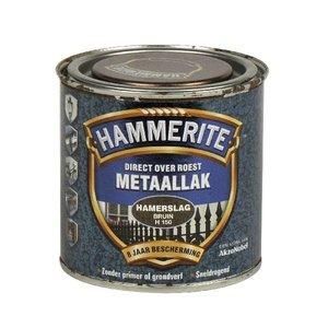 Hammerite Hammerite Metaallak hamerslag H150 bruin 250ML