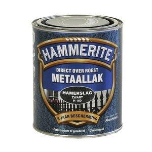 Hammerite Hammerite Metaallak hamerslag H160 zwart 750ML