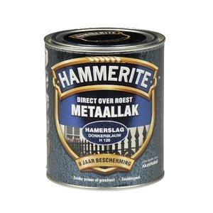 Hammerite Hammerite Metaallak hamerslag H128 donker blauw 750ML