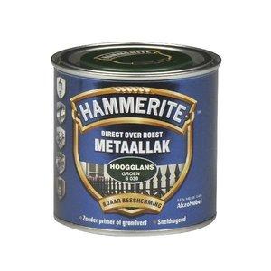 Hammerite Hammerite Metaallak hoogglans S030 groen 250ML