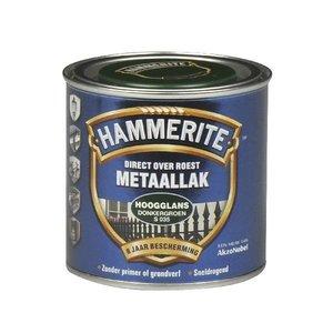 Hammerite Hammerite Metaallak hoogglans S035 donker groen 250ML