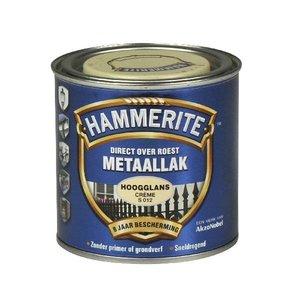 Hammerite Hammerite Metaallak hoogglans S012 creme 250ML