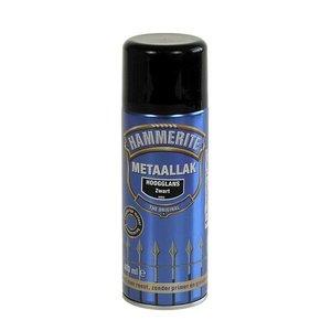 Hammerite Hammerite Metaallak hoogglans S060 zwart 400ML