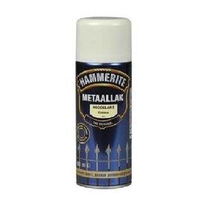 Hammerite Hammerite Metaallak hoogglans S012 creme 400ML