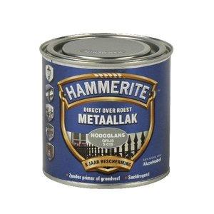 Hammerite Hammerite Metaallak hoogglans S018 grijs 250ML