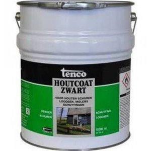 Tenco Tenco Houtcoat zwart 25 Liter (teervrij)