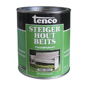 Tenco Tenco Steigerhoutbeits - grey wash - 1 Liter