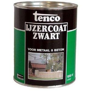 Tenco Tenco Ijzercoat zwart - 1 Liter (teervrij)