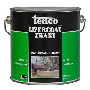 Tenco Tenco Ijzercoat zwart - 2,5 Liter (teervrij)
