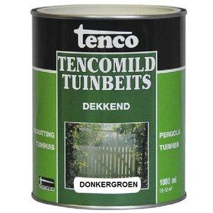 Tenco Tencomild tuinbeits donkergroen dekkend 1 Liter