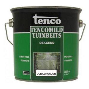 Tenco Tencomild tuinbeits donkergroen dekkend 2,5 Liter