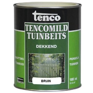 Tenco Tencomild tuinbeits bruin dekkend 1 Liter