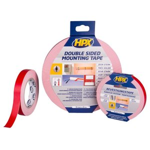 Hpx HPX Spiegel bevestigingstape - Mirror mounting tape 19 mm