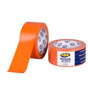 HPX tapes HPX PVC Beschermingstapes oranje 50 mm x 33 meter PT5033