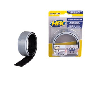 HPX tapes HPX Duo Grip klikband 25mm x 0,5 meter DG2500
