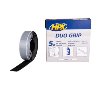 HPX tapes HPX Duo Grip klikband 25mm x 2 meter DG2502
