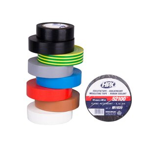 HPX tapes HPX PVC Isolatietape VDE 19mm x 20 meter