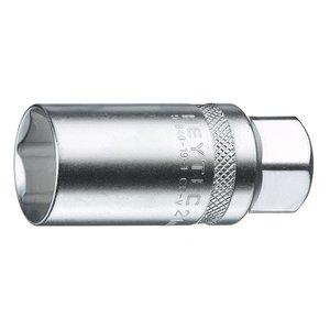 """Heytec Tools Heytec Bougiedopsleutel 3/8"""" - 16 mm 50840-19-3"""