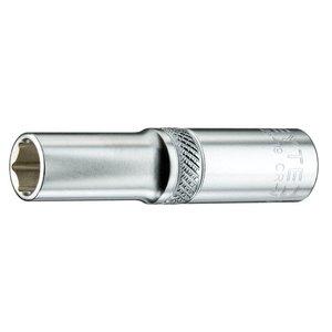 "Heytec Tools Heytec Dopsleutel verlengd 1/4"" -  10 mm"