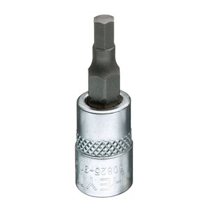 "Heytec Tools Heytec Schroevendraaier dopsleutel inbus 1/4"" - 3 mm 50825-31-1"