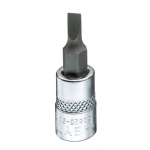 "Heytec Tools Heytec Schroevendraaier dopsleutel sleuf 1/4"" - 4 mm 50825-30-3"
