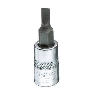 "Heytec Tools Heytec Schroevendraaier dopsleutel sleuf 1/4"" - 7 mm 50825-30-5"