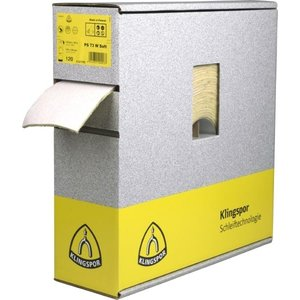Klingspor Klingspor PS 73 BWF Schuurpapier + foam - 115x140/25.000 mm - korrel 180