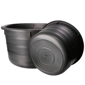 Speciekuip 85 Liter zwaar model zwart