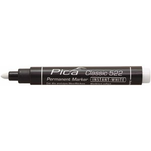 Pica Pica Permanent marker 522/52  1-4 mm ronde punt wit