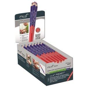 Pica Pica Dubbel potlood 599/50 rood/ blauw 175 mm 50 stuks