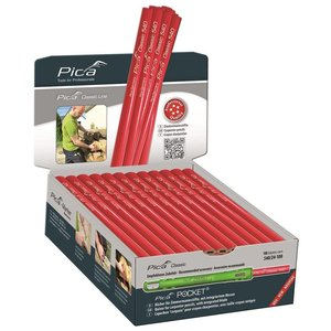 Pica Pica Timmermanspotlood 540/24 240 mm display 100 stuks