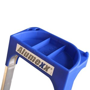 Alumexx Alumexx ECO huishoudtrap met gereedschapbakje - aluminium - 2