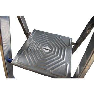 Alumexx Alumexx ECO huishoudtrap met gereedschapbakje - aluminium - 3
