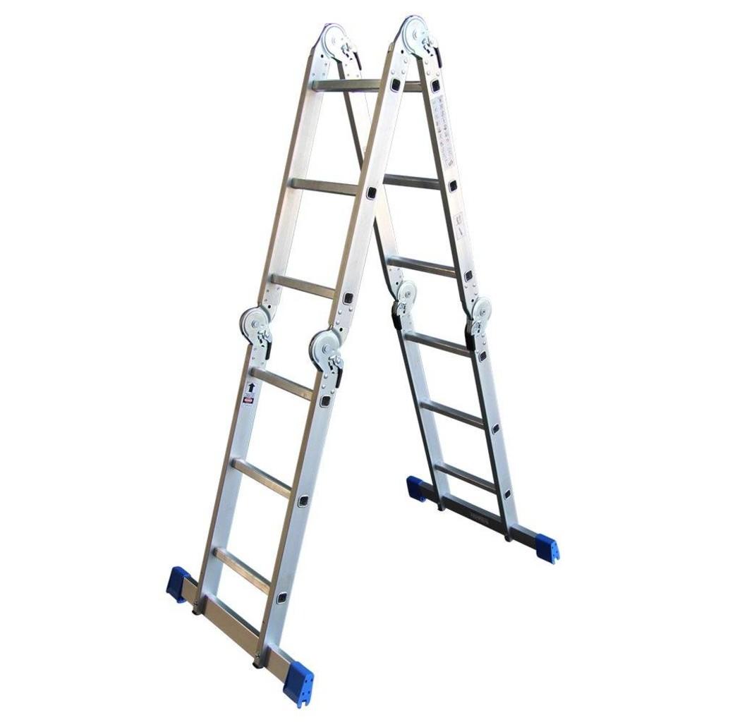 Alumexx Alumexx Multi vouwladder - trap -  steiger met inlegbordes - 990608997